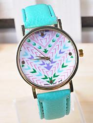 Omiya Women's PU Leather Wrist Watch DSC_0241