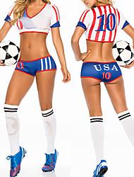 FIFA World Cup Brazil 2014 USA Football Baby Women's Costume