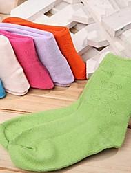 Crianças Socks confortáveis coloridos de algodão (cor aleatória)