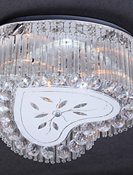 2 Way Heart Shaped LED Crystal Ceiling Light