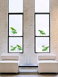 PVC Lotus fenêtre Feuille Window Film Autocollants