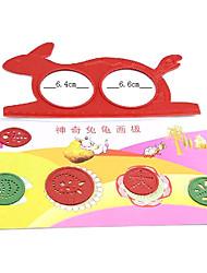 Magia del conejo de la tortuga de dibujos / Puzzle Dibujo Juguete