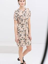 Women's Dresses , Chiffon Casual Ypsl