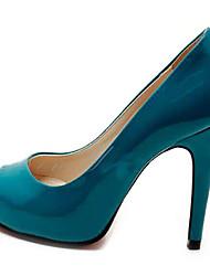 Red-Goust de casamento das mulheres saltos de bico fino Sapatos