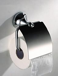 Brass Toilet Paper Holder solide, 5.5 pouces x 3 pouces