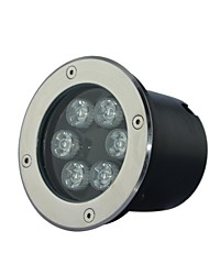 6 LED High Power Warm / Pur / Cool White Light Underground AC85-265V