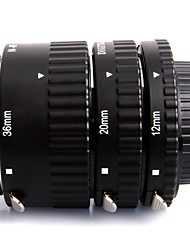 Meike® MK-N-AF-A Metal Auto Focus AF Macro Extension Tube Set for Nikon Camera Close-up Lap