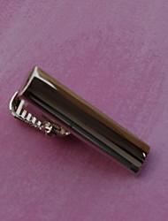 2,5 centímetros do vintage dos homens Clipes laço (prata) (1pc)
