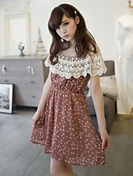 Nueva vivi verano japonés hueco del cordón del ganchillo del suéter de colcha tejida pequeñas conchas