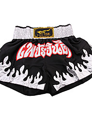 Black and White Boxing Shorts(Assorted Size)