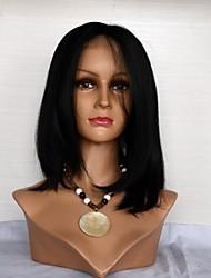 14061316 Hetero Parte Oriente Virgin cabelo humano peruca