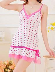 Sexy Frauen Dot Babydoll (Fit Größe: S-XL)