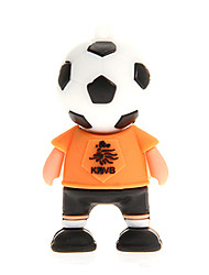 Germania Francia Argentina Netherlands Football Player USB 2.0 Flash Drive 2GB