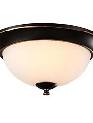 Ceiling Lamps , 2 Light , Retro Elegant Artistic Stainless Steel Plating MS-86245-1