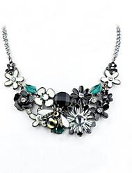 AILIAN Women's  Flowers Alloy Necklace
