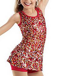 jazz prestaties spandex en pailletten jazz / moderen dans jurk voor kinderen (meer kleuren)