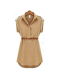 The One & Only Women's New Style All Match Leisure Chiffon DressX6007933