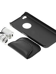 iPhone 5C Cell Phone Case e 60 volte lente di ingrandimento nel set
