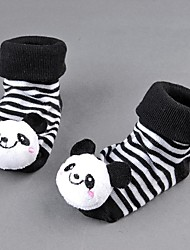 Children's Super Cute for Baby Socks Anti Slip Newborn Shoes Cartoon Animal Slippers Boots