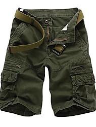 DDMEN Men's Korean Casual Knit Short Pants