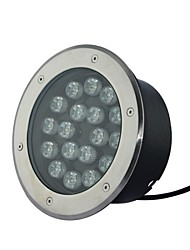 15 LED High Power Warm/Pure/Cool White Underground Light AC85-265V