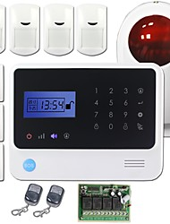 GS-G90E Auto Dial  Alarm System can Control 4CH Wireless Relay Output