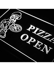 Pizza OPEN Shop Cafe Store Neon Light Sign
