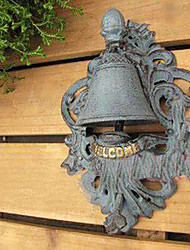 European High-grade Wrought Iron Crafts Retro Nobility Door Bell
