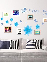 Wall Frame Collection Set von 8 mit Wandaufkleber 20