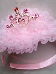 Girls' the New Baby Infant Children's Crown Hairband Sweet Candy Colors Baby Crown Hair Accessories