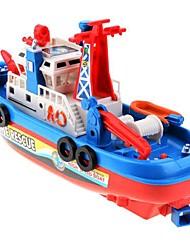 Loving Toy  Fireboat Sound Flash Water Spray Fireboat Simulation Boat