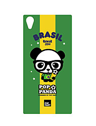 DDGD Creative 3D World Cup Theme Phone Case for SonyZ2-SJB11#Braliz