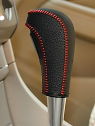 XuJi ™ Genuine Leather Gear Shift Knob Cover for Ford Focus 2 Ford Fiesta