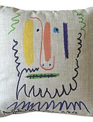 Эскиз Цвет Старик декоративным покрытием Подушка