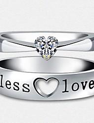 Sillove Men's Fashion Love Couples Ring