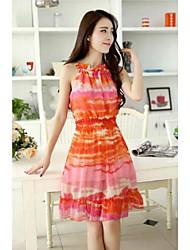 Vrouwen Floral slanke jurk