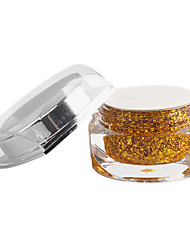 15ml paillettes d'or paillettes Gel UV couleur