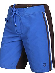 Herren Polyester Blau Kaffee Surf Beach Short