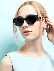 Occidentales de la Mujer Liangzi Classic Fashion Gray Camo Vintage Sunglasses (pantalla a color)