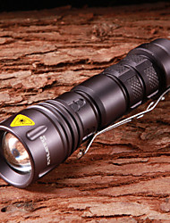 LED Flashlights/Torch / Handheld Flashlights/Torch LED 5 Mode 800 Lumens Adjustable Focus / Waterproof Cree XR-E Q5 14500