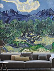 Paese astratta pittura a olio stile Ulivo Roller Ombra