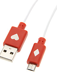 Luminous USB 2.0 Male to Micro USB 2.0 Male Cable(98cm)