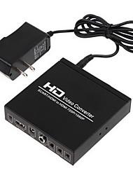 Scart +HDMI to HDMI Converter