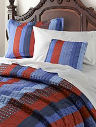Réversible lavable Quilt Set, 1pc Quilt 1pc 1pc Sham coussin 100% Polyester Sebas