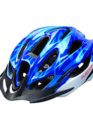 FJQXZ Men's Half Shell Bike helmet 15 Vents Cycling Cycling PC / EPS Blue