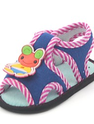 Boy's Sandals Summer First Walkers Synthetic / Cotton Outdoor / Casual / Athletic Flat Heel Blue