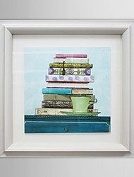 Still Life Books  Framed Art Print
