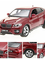 1/24 DIE-CAST For BMW X6 Licensed Alloy RTR RC Car with LED Lights