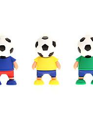 Fußball-Spieler USB 2.0 Flash Drive 4 GB