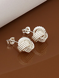 Yueyin Women's 925 Net Earrings